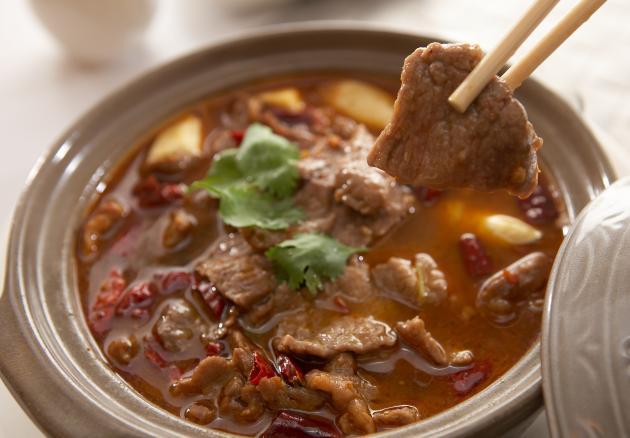 水煮牛肉煲 1