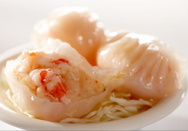 水晶鮮蝦餃 1