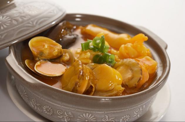 蟹黃海鮮豆腐煲 1