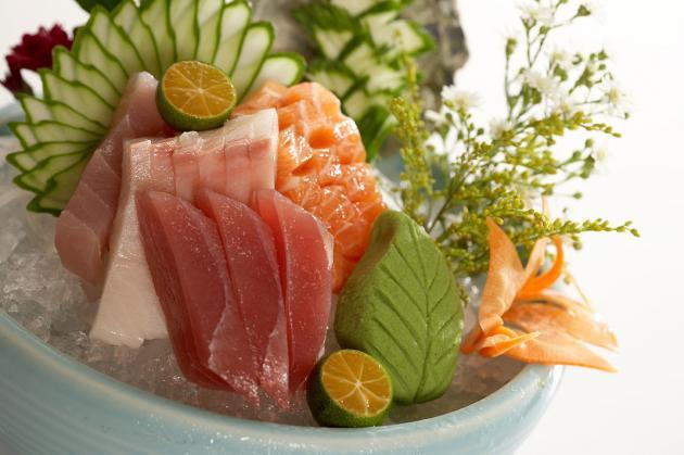 綜合生魚片 1