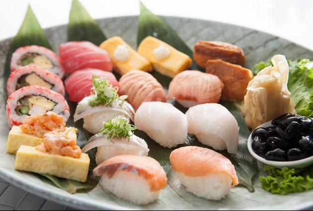 綜合壽司盤 1