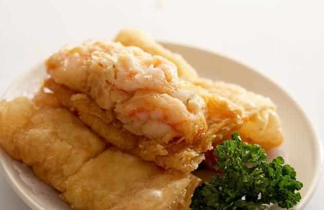 鮮蝦腐皮卷 1